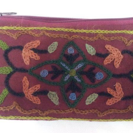 Beautiful Kashmiri embroidered clutches