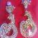 Beautiful big earrings