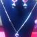 Multi color Necklace set