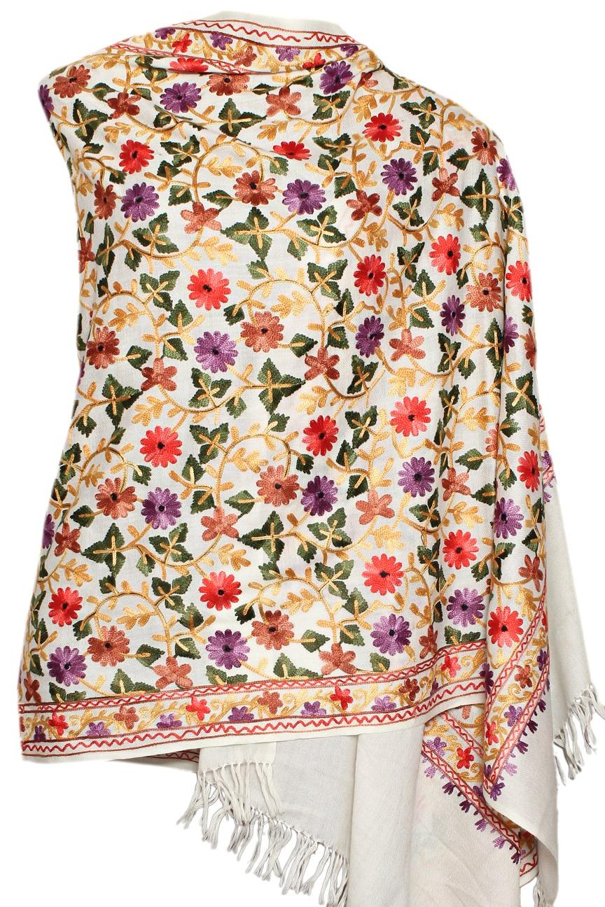 e1c0768775 white stole- color flowers | Hot Deals | Decor