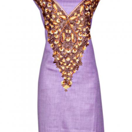 Light purple suit