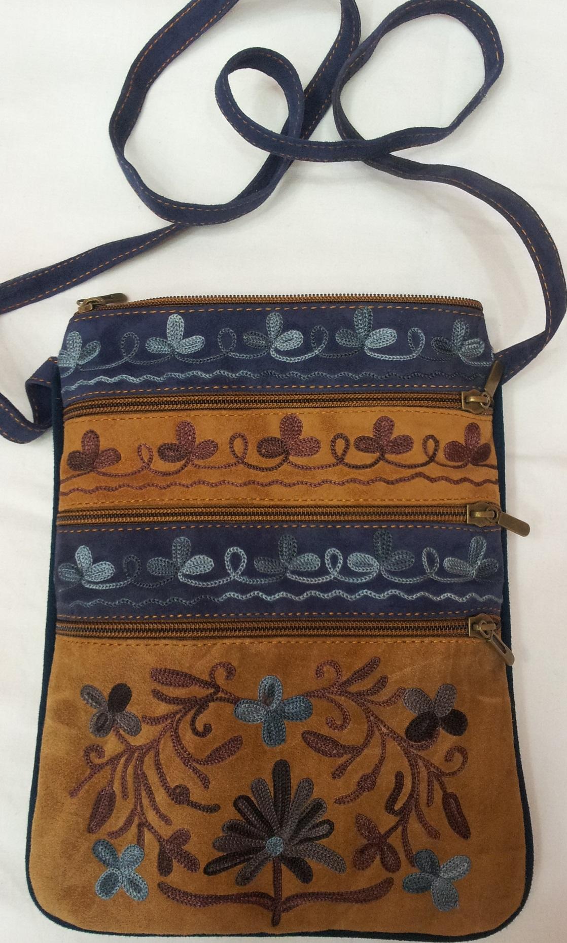 Embroidery sling bag shawls apparel