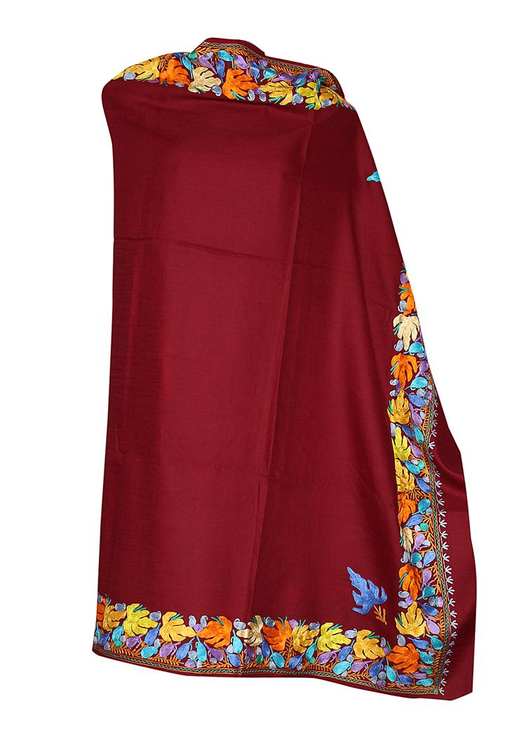 159e127497 Kashmiri Semi-Pashmina Shawl | Kashmiri Spices | Tours